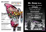 Mr. WANY Ephemeral Beauty together with Mr. DEEP show
